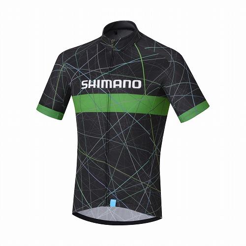 SHIMANO(シマノ)チームジャージ ブラック S