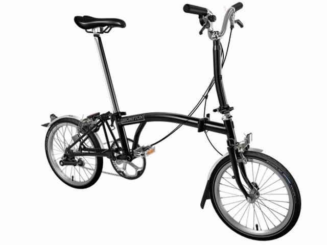 【店舗受取限定/ポイント3%還元】 BROMPTON ( ブロンプトン ) 折りたたみ自転車 20年モデル M3L ブラック