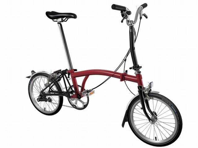 【店舗受取限定/ポイント3%還元】 BROMPTON ( ブロンプトン ) 折りたたみ自転車 20年モデル M3L ハウスレッド / ブラック