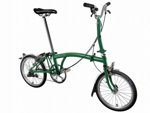 【店舗受取限定/ポイント3%還元】 BROMPTON ( ブロンプトン ) 折りたたみ自転車 20年モデル M3L レーシンググリーン