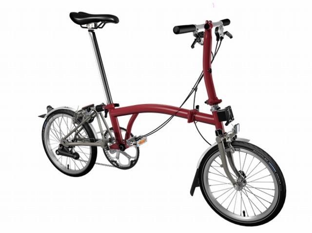 【店舗受取限定/ポイント3%還元】 BROMPTON(ブロンプトン) 20年モデル S2LX SUPERLIGHT 折りたたみ自転車 ハウスレッド