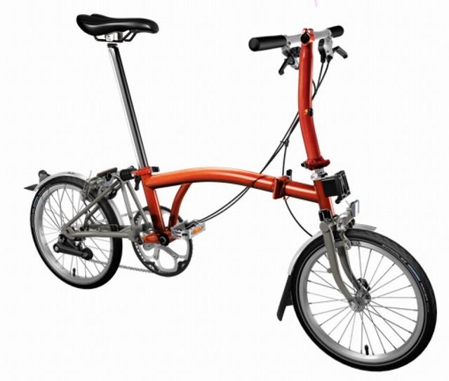 【店舗受取限定/ポイント3%還元】 BROMPTON(ブロンプトン) 20年モデル S2LX SUPERLIGHT 折りたたみ自転車 フレイムラッカー