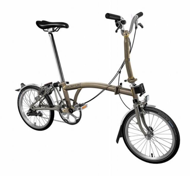 【店舗受取限定/ポイント3%還元】 BROMPTON ( ブロンプトン ) 20年モデル M3LX SUPERLIGHT 折りたたみ自転車 ロー