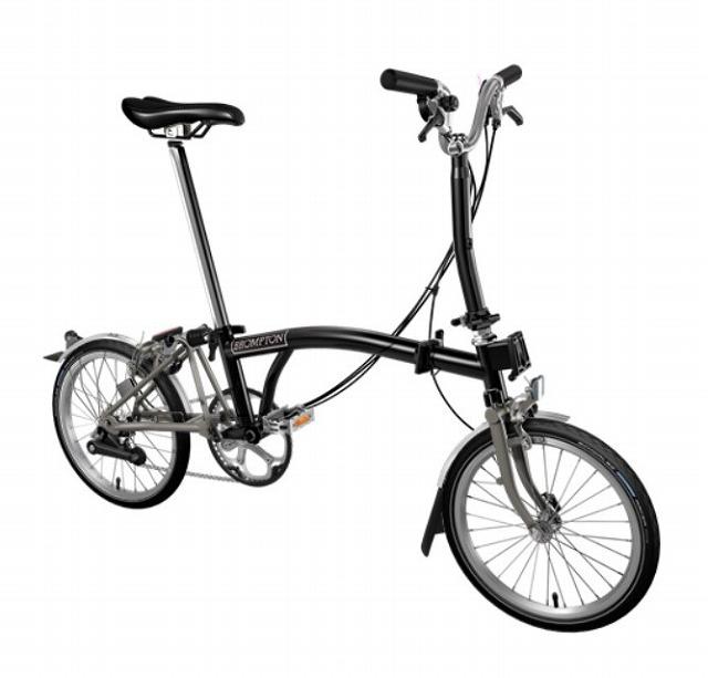 【店舗受取限定/ポイント3%還元】 BROMPTON(ブロンプトン) 20年モデル M6LX SUPERLIGHT 折りたたみ自転車 ブラック
