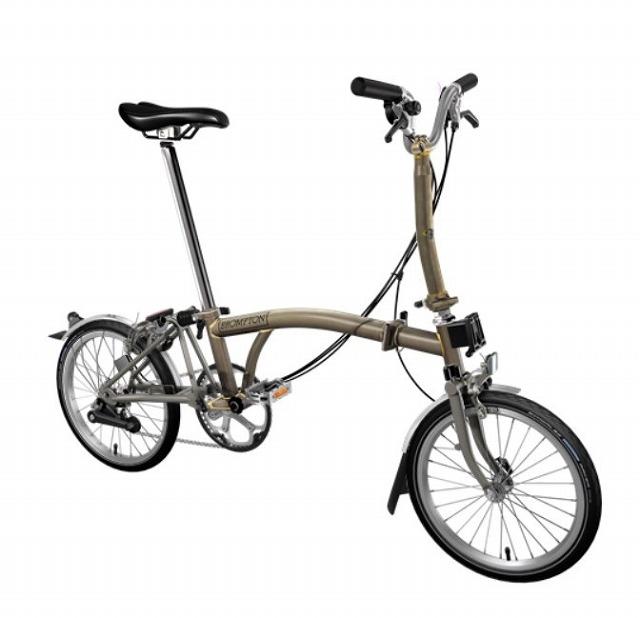【店舗受取限定/ポイント3%還元】 BROMPTON(ブロンプトン) 20年モデル M6LX SUPERLIGHT 折りたたみ自転車 ロー