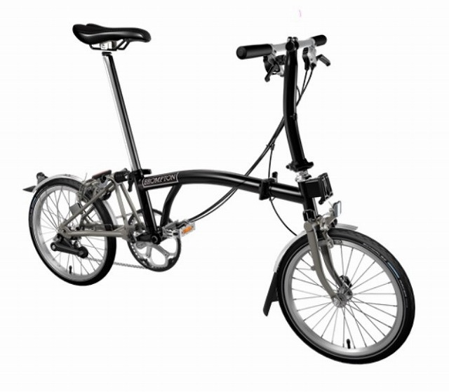 【店舗受取限定/ポイント3%還元】 BROMPTON(ブロンプトン) 20年モデル S6LX SUPERLIGHT 折りたたみ自転車 ブラック