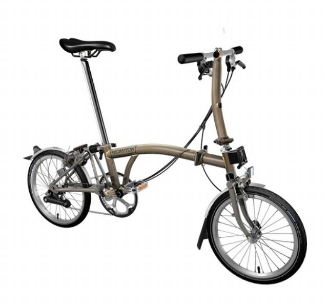【店舗受取限定/ポイント3%還元】 BROMPTON(ブロンプトン) 20年モデル S6LX SUPERLIGHT 折りたたみ自転車 ロー