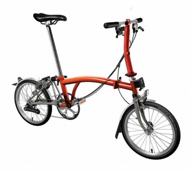 【店舗受取限定/ポイント3%還元】 BROMPTON(ブロンプトン) 20年モデル S6LX SUPERLIGHT 折りたたみ自転車 フレイムラッカー