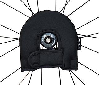 OSTRICH(オーストリッチ) 輪行バッグ ローターカバー ブラック  140mm/160mm用