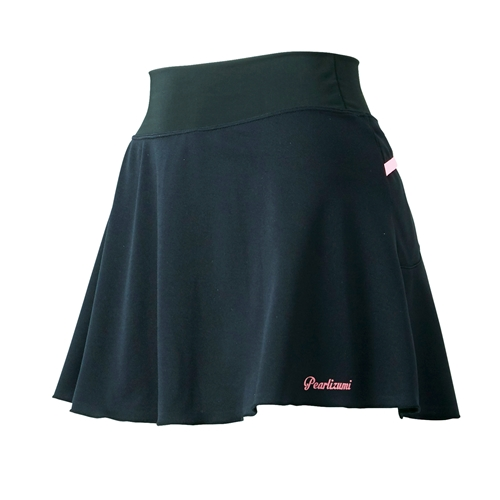 PEARL IZUMI(パールイズミ)W753 ギャザースカート ブラック S-M