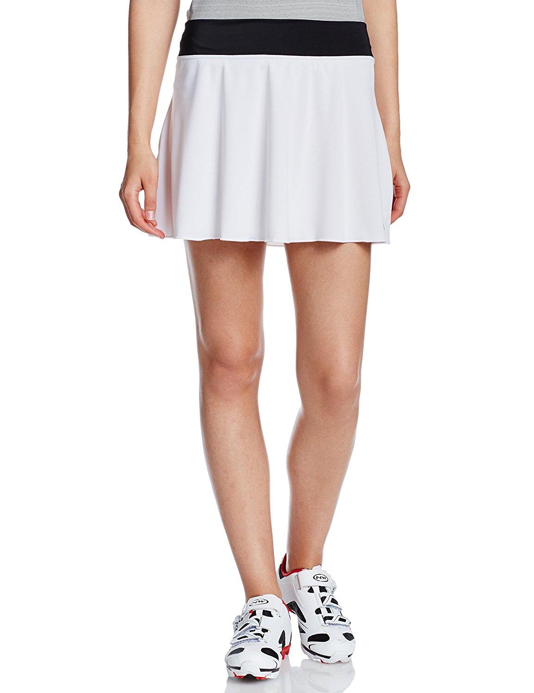 PEARL IZUMI(パールイズミ)W753-9-S ギャザー スカート ホワイト S-M