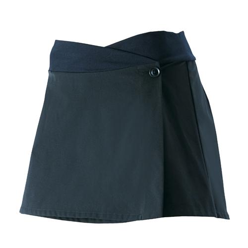 PEARL IZUMI(パールイズミ)W752 Aライン スカート ブラック S-M