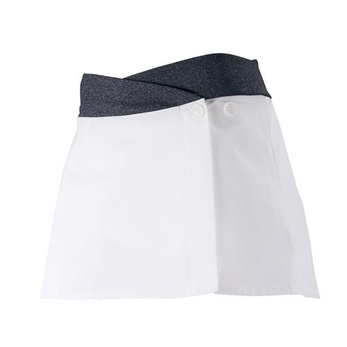 PEARL IZUMI(パールイズミ)W752 Aライン スカート ホワイト S-M