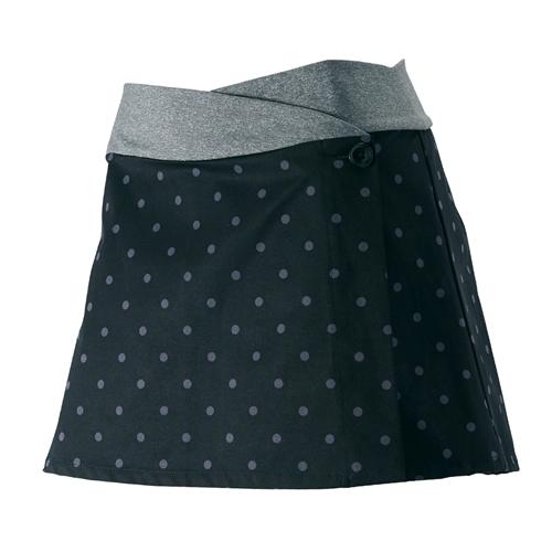 PEARL IZUMI(パールイズミ)W752 Aライン スカート ピンドット S-M