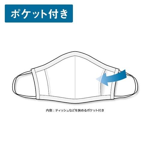 【洗って繰り返し使えるマスク】 PEARL-IZUMI ( パールイズミ ) 布マスク