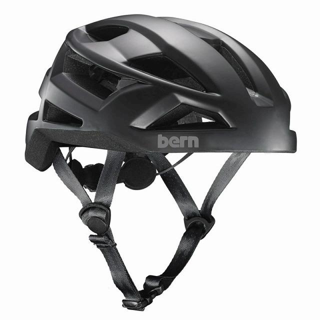 【オンライン限定特価 / 通勤に最適なヘルメット】 BERN ( バーン ) ヘルメット FL-1 LIBRE ( エフエルワン リブレ ) マットブラック M