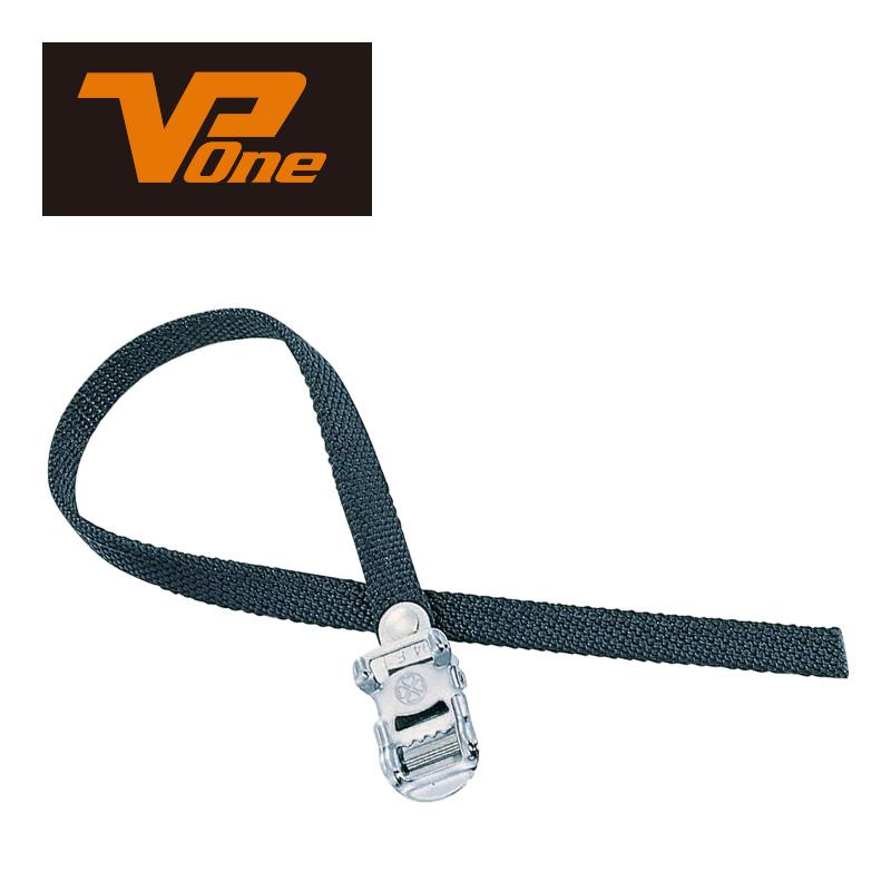 VPONE(ブイピーワン)MG-STP トーストラップ ブラック