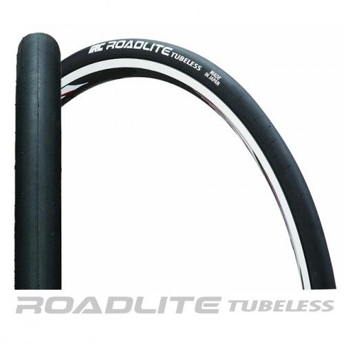 IRC ( アイアールシー ) タイヤ ROADLITE TUBELESS ロードライト チューブレス ブラック 700X23C