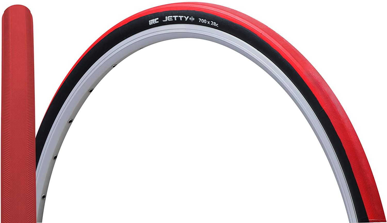 IRC ( アイアールシー ) タイヤ JETTY PLUS ジェティプラス レッド 700X28C