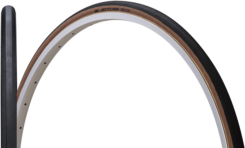 IRC ( アイアールシー ) タイヤ JETTY PLUS ジェティプラス ブラック / スキンサイド 700X23C