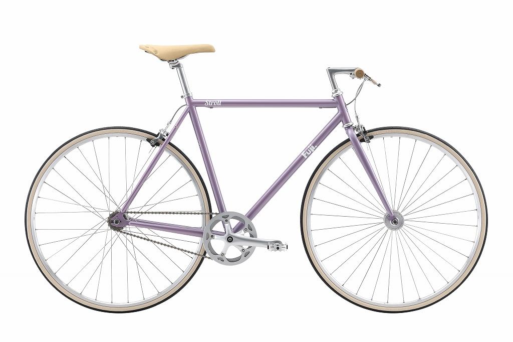 FUJI(フジ) シングルスピードバイク STROLL ( ストロール ) ラベンダー 49
