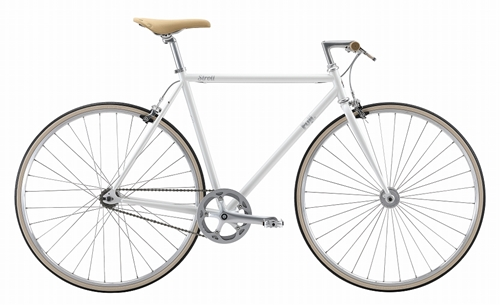FUJI(フジ) シングルスピードバイク STROLL ( ストロール ) ホワイト 54