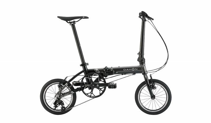 【直送可】 DAHON(ダホン) 20 K3 14インチ フォールディングバイク ガンメタル / ブラック