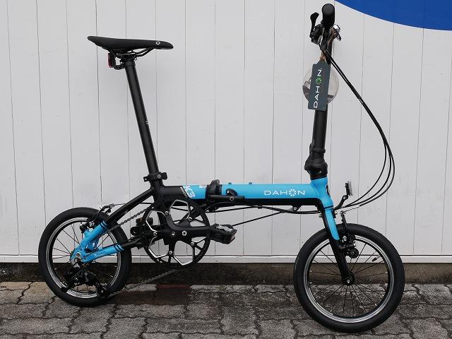 【直送可】 DAHON(ダホン) 20 K3 14インチ フォールディングバイク ブルー/ ブラック