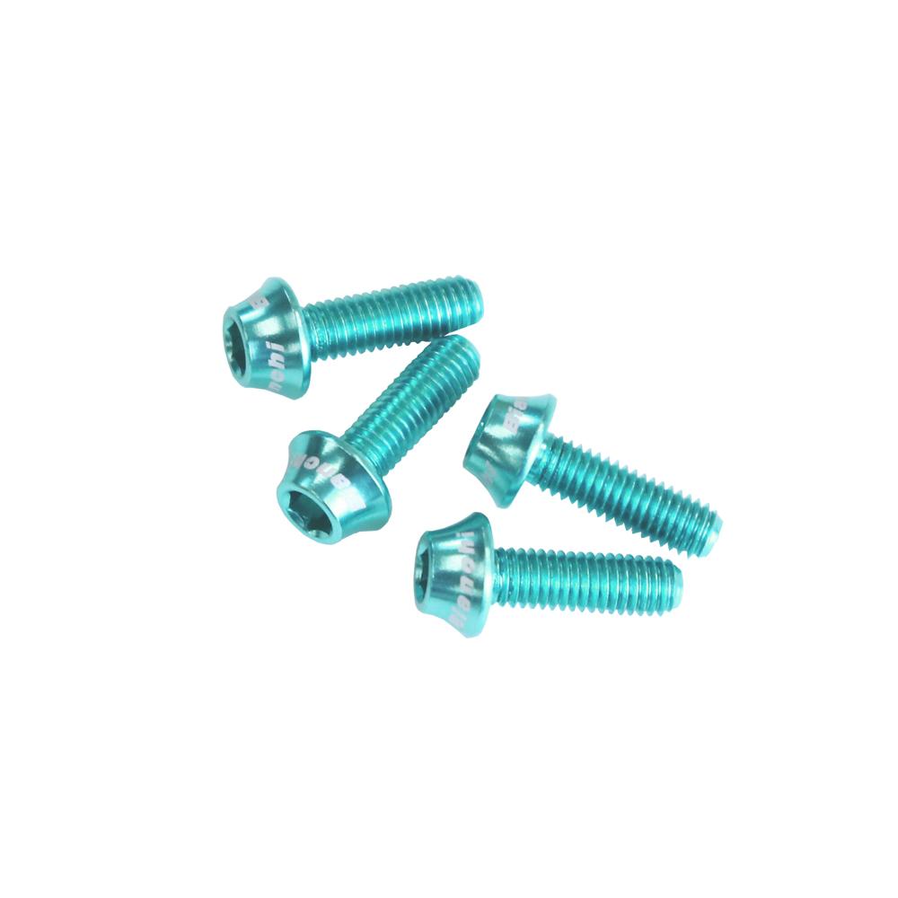 BIANCHI(ビアンキ) ボトルケージ用ボルト ボトルゲージボルト A チェレステ/LOGO