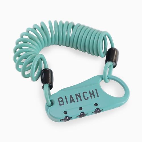 BIANCHI ( ビアンキ ) 鍵 ミニロックA チェレステ 1500X3mm