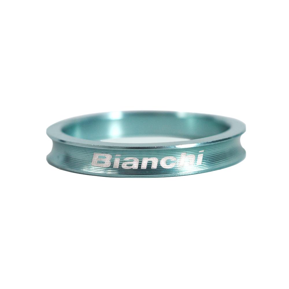 BIANCHI(ビアンキ) アルミヘッドスペーサー B チェレステ 5mm