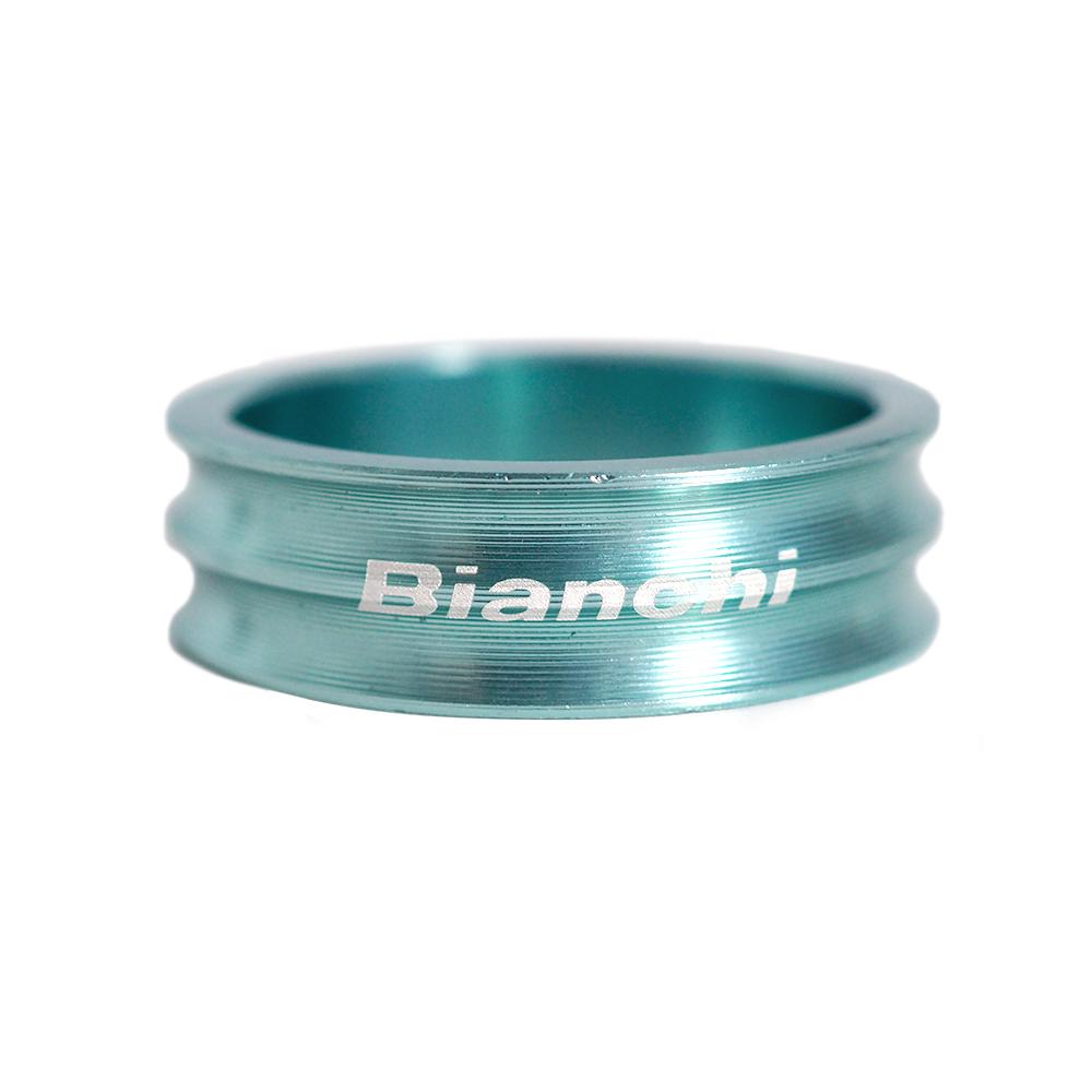 BIANCHI(ビアンキ) アルミヘッドスペーサー B チェレステ 10mm