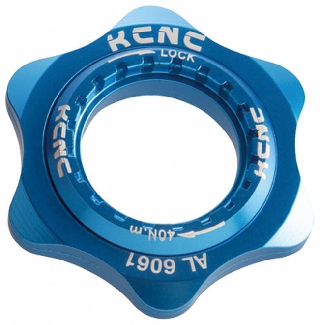KCNC(ケーシーエヌシー)ブルー 20T センターロックアダプター