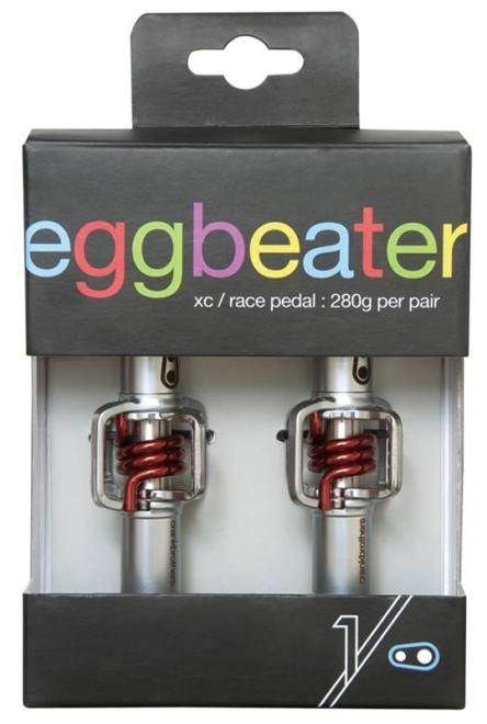 CRANK BROTHERS(クランクブラザーズ)EGG BEATER1 シルバー/レッド
