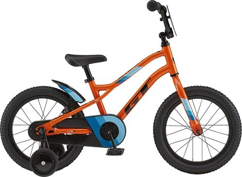 GT ( ジーティー ) キッズバイク RUNGE 16 ( ランジ 16 ) オレンジ ユニサイズ