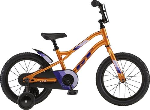 GT ( ジーティー ) キッズバイク SIREN 16 ( サイレン 16 ) オレンジ ユニサイズ