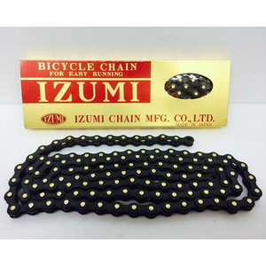 IZUMI(イズミ)JET BLACK ブラック/ブラック 116L