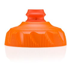 POLAR BOTTLE(ポーラーボトル)交換用キャップ タンジェリン