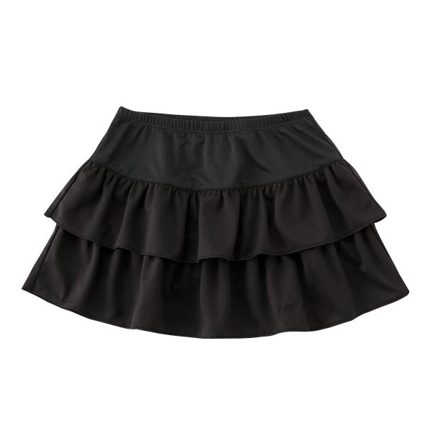 KAPELMUUR(カペルミュール)ティアードスカート ブラック F