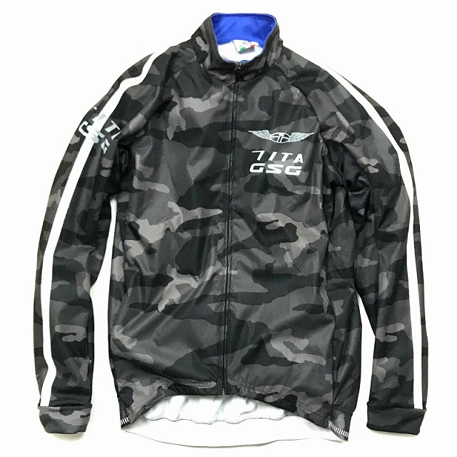 7-ITA(セブンアイティエー) Neo Camo II Wind Jacket ブラックカモ S