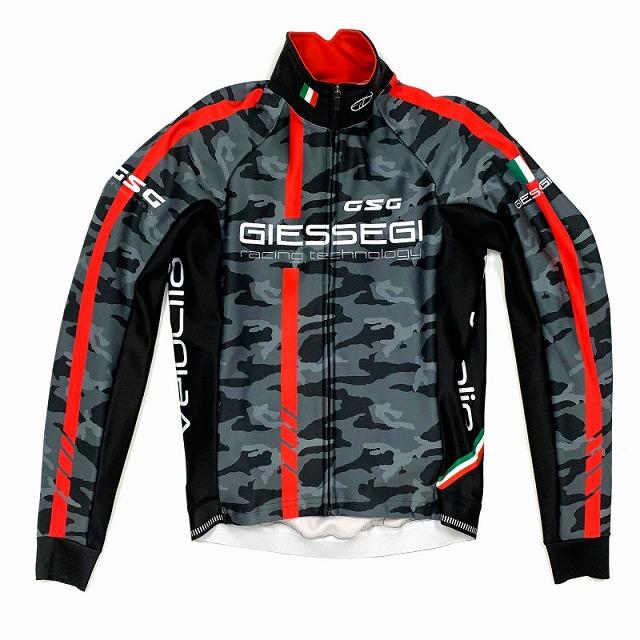 GSG(ジェッセージ) GZ-R II Jacket カモ / レッド M