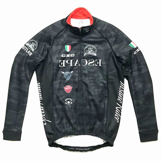 GSG(ジェッセージ) Face Outlaw Jacket ブラックカモ M