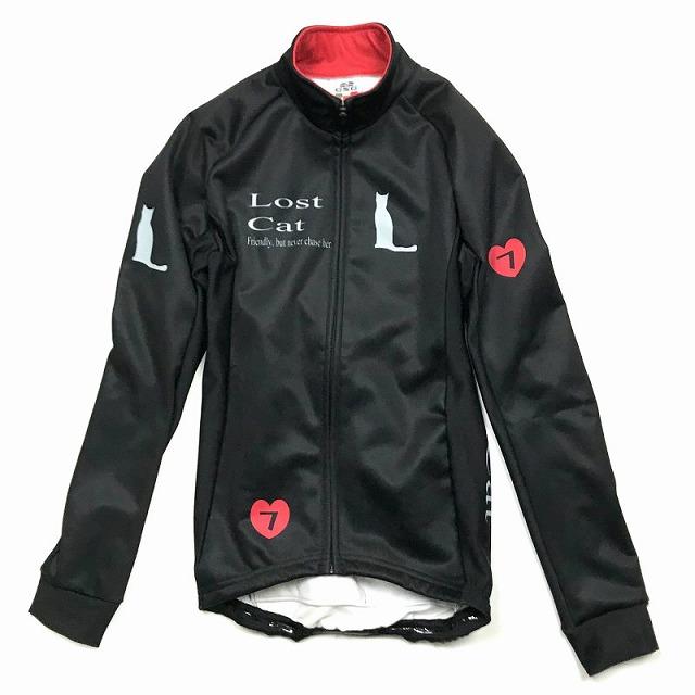 7ITA ( セブンアイティエー ) Neo Lost Cat Lady Jacket ブラック / レッド M