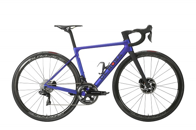 DE ROSA ( デローザ ) ロードバイク MERAK DISK ( メラク ディスク ) CHORUS ( コーラス ) ブルーマット 43SL