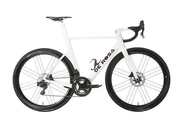 DE ROSA ( デローザ ) ロードバイク SK DISC ( エスケー ディスク ) ULTEGRA ( アルテグラ ) ホワイトグロッシー 48