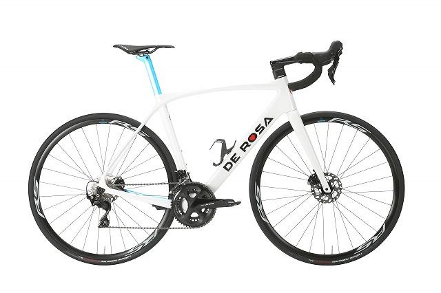 DE ROSA ( デローザ ) ロードバイク IDOL DISC ( アイドル ディスク ) 105 ホワイトグロッシー 48SL