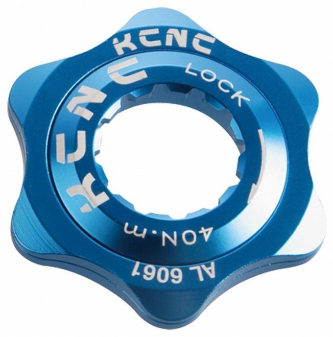 KCNC(ケーシーエヌシー)ブルー XC / 20T センターロックアダプター