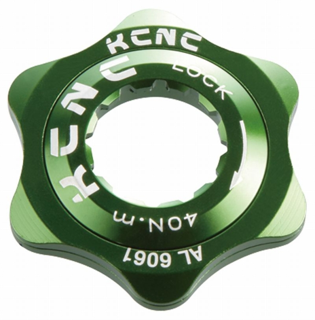 KCNC(ケーシーエヌシー)グリーン XC / 20T センターロックアダプター