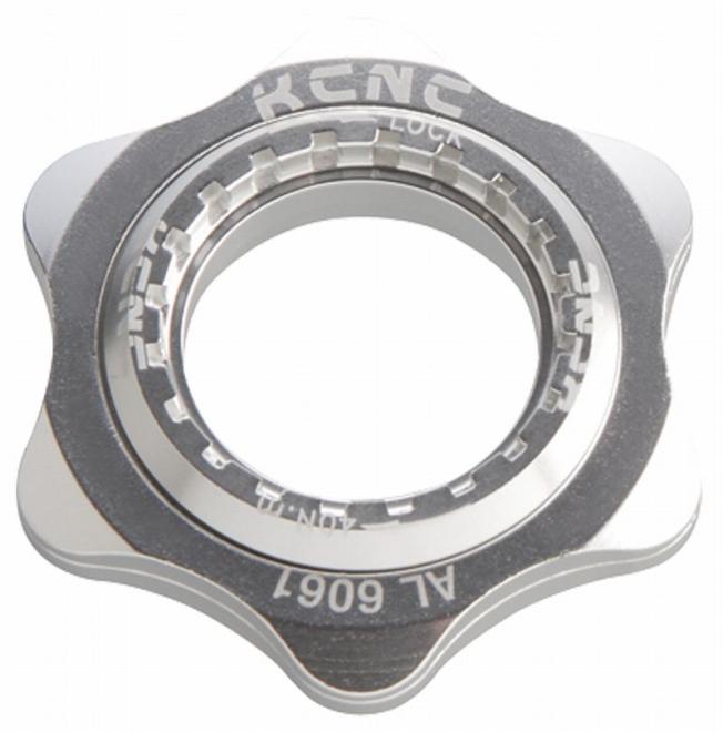 KCNC(ケーシーエヌシー)シルバー 20T センターロックアダプター