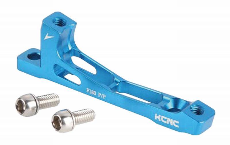KCNC(ケーシーエヌシー)ブルー 180MM X7 ポストマウントアダプター